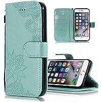 Shinyzone Brieftasche Hülle für iPhone XR,Prägung Henna Mandala Muster Serie,[Standfunktion und Magnetverschluss... preisvergleich bei billige-tabletten.eu