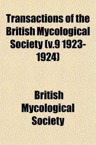 Transactions of the British Mycological Society (v.9 1923-1924)