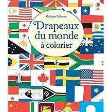 Drapeaux du monde à colorier