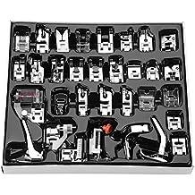 DGTRHTED Coser pie - 32pcs / Set Coser pie pie prensatelas Kit de Accesorios de máquina