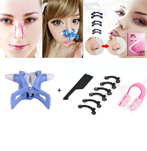 SBE Nose Up Clip Shaping Shaper Lifting Bridge Straightening Beauty Nose Clip, Diving Massager Face Slim Fitness Facial Clipper Shaper Beauty Tool.