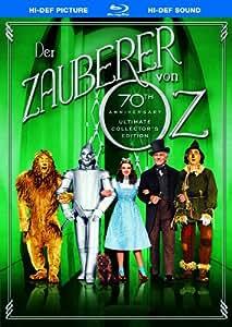 DVD * Der Zauberer von Oz (Blu-ray) [Import allemand]