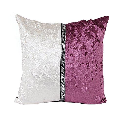 kinghard Porzellan Kissen Fall Cafe Home Decor Kissen, violett, 45cm*45cm/18*18