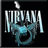 Nirvana Jagstang Wings Steel Mmetal Fridge Magnet Album Band Logo Icon Official
