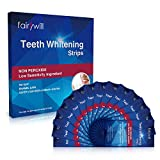 Teeth Whitening Strips,Fairywill Professional Whitening Strips,Fast Results & Non Peroxide, Removes Stains & Freshens Breath,Dental Whitener Kit for Removing Teeth Stains