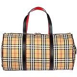 BURBERRY Reisetasche Tasche Weekender Umhängetasche Kennedy Braun