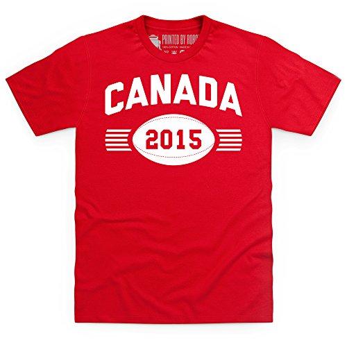 Canada Supporter T-Shirt, Herren Rot