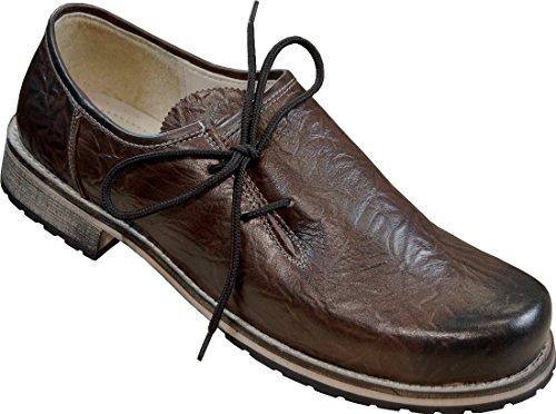 MADDOX Haferlschuh Franziskus in altbayrischer Machart, Größe:48, Farbe:Braun - Rustik