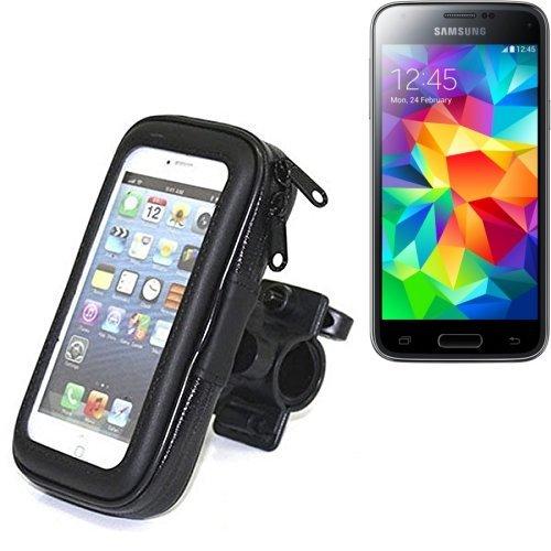 Fahrradhalterung für Samsung Galaxy S5 Mini, Handyhalterung Lenkstange Fahrrad Halter Motorrad Bike mount Smartphone Halter Wasserabweisend, regensicher, spritzwasserdicht