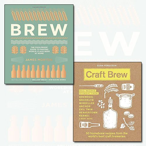 Brew and Craft Brew 2 Books Bundle Collection - The Foolproof Guide to Making World-Class Beer at Home, 50 homebrew recipes from the world's best craft breweries