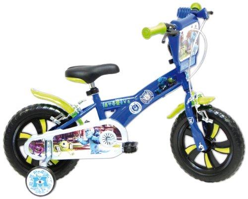 Disney Monsters University Kinderfahrrad, 12 Zoll, Blau (Monster University Spielzeug)