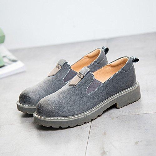 XTIAN - Pantofole Donna Grau