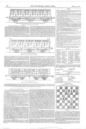 Schach Schach-Problem *63, BahnWagen Entwirft