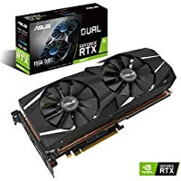 ASUS GeForce RTX 2080 Ti Dual (11GB GDDR6/PCI Express 3.0/1350MHz-1560MHz/14000MHz)