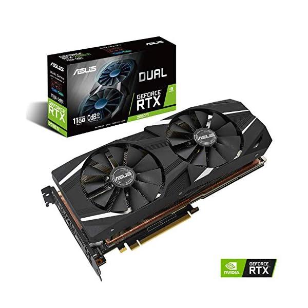 ASUS GeForce RTX 2080 Ti Dual (11GB GDDR6/PCI Express 3.0/1350MHz-1560MHz/14000MHz) 51a0FVsr8IL