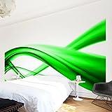 Apalis Vliestapete Green Element Fototapete Breit | Vlies Tapete Wandtapete Wandbild Foto 3D Fototapete für Schlafzimmer Wohnzimmer Küche | grün, 94937