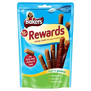 Bakers Rewards Variety Pack 126 g, Pack of 8