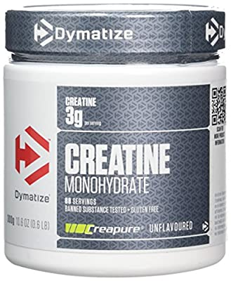 Dymatize Creatine Monohydrate Unflavoured Powder, 300 g by Dymatize