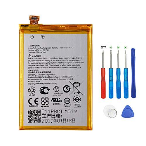Swark C11P1424 Batterie compatible avec ASUS Zenfone 2 ZE550ML ZE551ML ZE500CL Zenfone 2 Deluxe avec outils