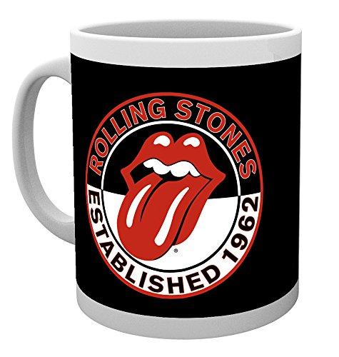 GB eye LTD, The Rolling Stones, Established, Mug, Ceramic, Various, 15 x 10 x 15 cm