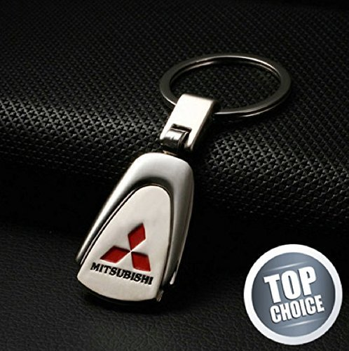 mitsubishi-pearshaped-deluxe-stainless-steel-logo-keyring-with-box