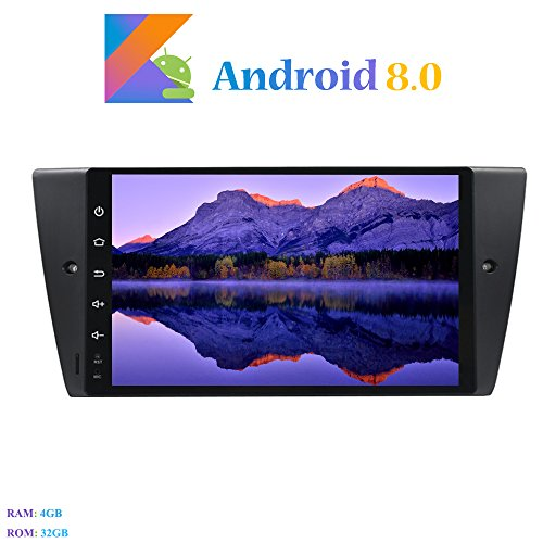 Android 8.0 Autoradio, Hi-azul In-Dash 8-Core 64Bit RAM 4G ROM 32G Radio...