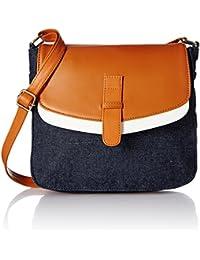 Kanvas Katha Women's Sling Bag (Multicolor) (KKDPFS001)