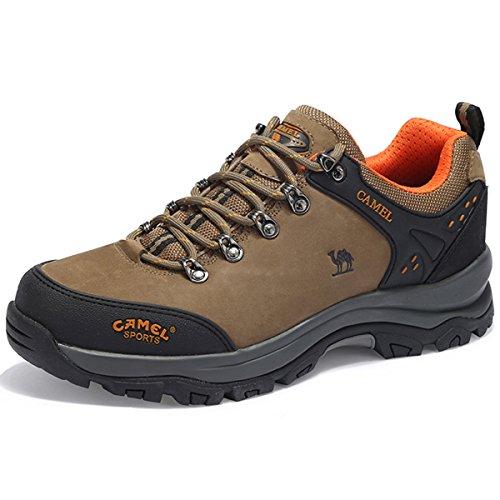 detailed look 854f1 e6d23 Camel Zapatos de Senderismo para Hombre al Aire Libre Trekking Low-Top  Profesional.