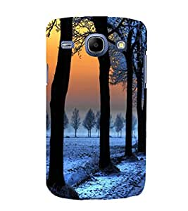 printtech Ice Trees Path Back Case Cover for Samsung Galaxy On7
