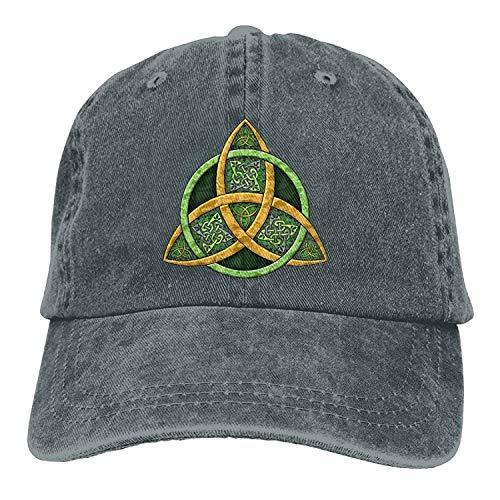 KKAIYA Cool Celtic Trinity Knot Adjustable Cotton Cap Knit Knot Hat