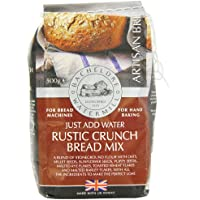 Bacheldre Watermill Rustic Crunch Bread Mix 500 g (Pack of 10)