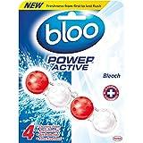 Bloo Puissance Active WC RIM Bloquer, eau de Javel, étui de 10