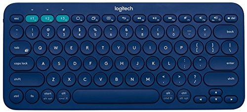 Logitech K380 920-007597Multi-Device Blutooth Keyboard (Blue)