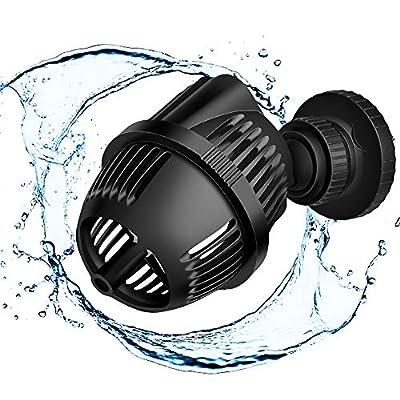 Aquarium Pompe d'onde Wave Maker pompe Pompe Pompe de recirculation à eau de mer 2500l/h 3W avec aimant Iron/plat avec absorption Tray