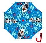 Arditex wd8878r–Regenschirm mit Öffnung Manuelle Vinyl mit Motiv rot unter die Eiskönigin–8,–40cm -