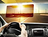 #5: 2 In 1 HD Vision Visor for All Cars Day & Night Visior for your Car Dazzling Goggle Day Night Vision Driving Mirror Sun Visors