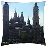 Basilica Cathedral-Spain - Throw Pillow Cover Case (16