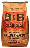 B&B Charcoal Oak Lump Charcoal, Flavor Oak, 20 lbs