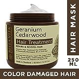 Bella Vita Organic Keratin Hair Repair Cream Mask For Chemically Treated and Colored