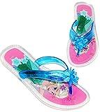 Unbekannt Zehentrenner Sandalen - Gr. 29 / 30 - ' Disney die Eiskönigin / Frozen - Rutschfeste Schuhe Schuh / Badeschuhe mit Profilsohle - für Kinder - Mädchen / Hauss..