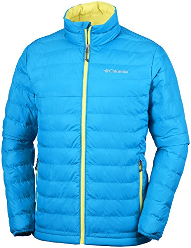 Columbia Herren Powder Lite Jacket Jacke, Blue Heron, Einheitsgröße Lake Blue