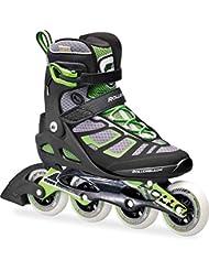 Rollerblade Macroblade 90Inline Skate 2016Black/Green, tamaño 47