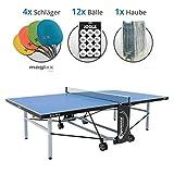 Sponeta S 5-73 e Magixx Set XL - 4x Schläger Magixx, 12x adidas Bälle, 1x Abdeckhaube