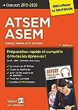 Concours ATSEM et ASEM 2019-2020- Catégorie C - Préparation complète et rapide à toutes les épreuves - Agent (territorial) spécialisé des écoles maternelles
