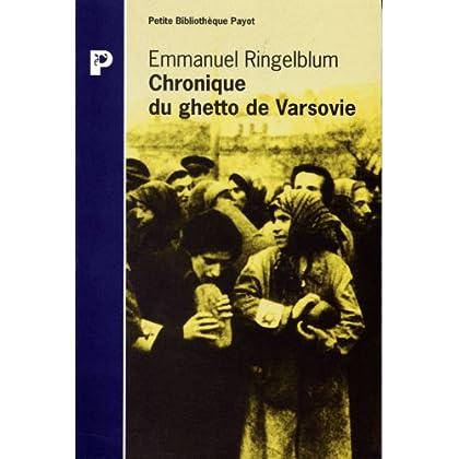 Chronique du ghetto de Varsovie