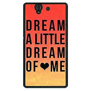 Jugaaduu Dream Love Back Cover Case For Sony Xperia Z