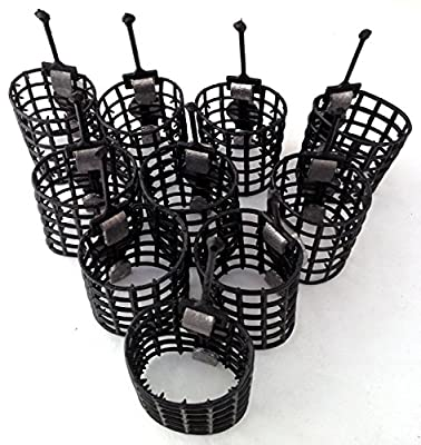 10 cage feeders 10g match course feeders carp fishing tackle by BZS
