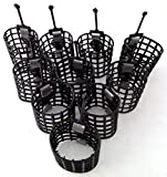 set of 10 15g cage feeders;Great for use with method feeder mix