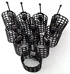 10 cage feeders 15g match course feeders carp fishing tackle