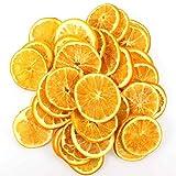 Orangenscheiben Fruchtscheiben getrocknet Trockenfrüchte orange Deko 250g